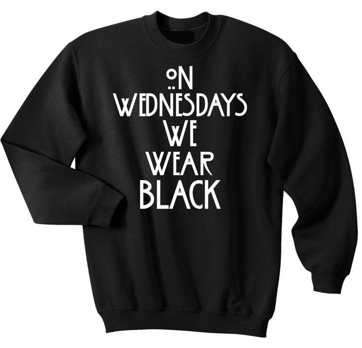 On Wednesdays We Wear Black - Sweater
