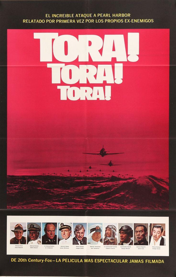 """Tora Tora Tora (1970) Vintage Movie Poster- 27""""x 41"""""""