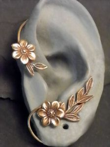 Ear Cuff - I can wear ear decor without pinchy clips or piercing my ears!