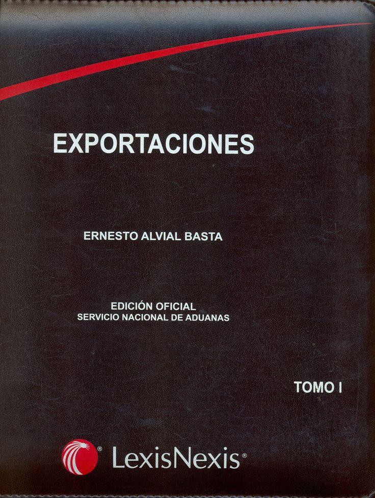 #exportaciones #ernestoalvialbasta #lexisnexis #normas #comercio #legislación #escueladecomerciodesantiago #bibliotecaccs