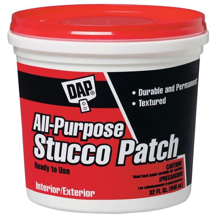 Dap 10504 1 Quart All Purpose Stucco Patch RTU