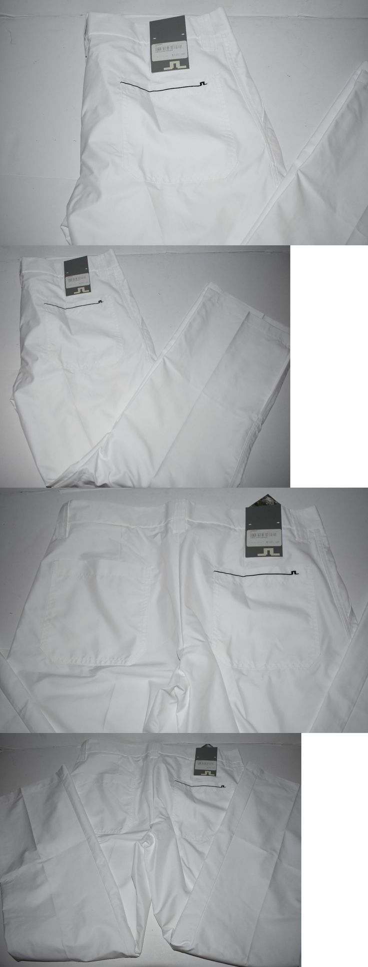 Other Golf Clothing 158939: Nwt J Lindeberg Troyan Micro Twill Pants White H2off Size 34X32 -> BUY IT NOW ONLY: $99 on eBay!