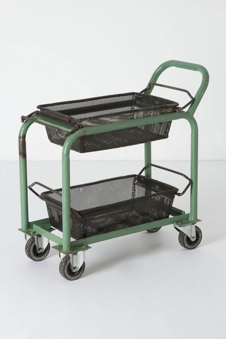 Antique Factory Trolley - Anthropologie.com  id find a use for it at work
