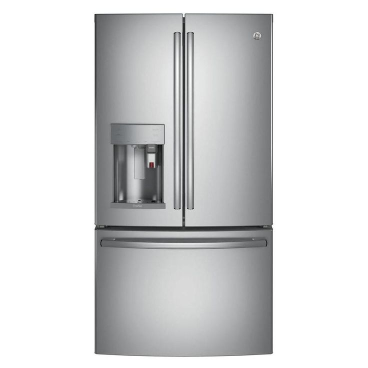 The best French door refrigerators include the GE Profile PFE28PSKSS with Keurig K-Cup