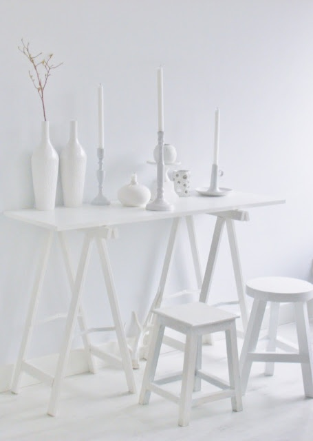 Do you breathe a sigh of relief at an all white room?