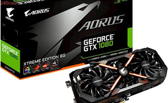 Gigabyte lança placa de vídeo GTX 1080 Aorus