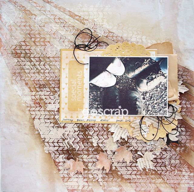 by Magda/Papierowy Pokój #goscrap #scrapbooking