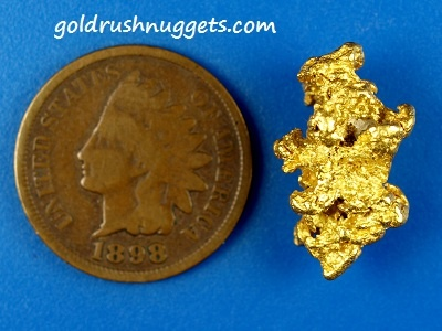 Amazing gold nugget from the land down under! High quality Aussie gold!!