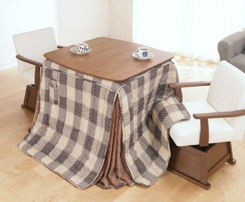 足元が冷える冬場は、こんなデスクで作業したい・・・【GLADY ... 熱気が外に逃げにくい構造の専用椅子もあり。床座よりも椅子座生活が快適!というあなたにいかが?