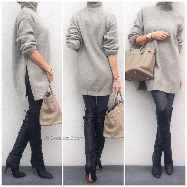 Yesterday -  #Céline oversized sweater, #HM (H&M 'Super skinny, super low waist') ... | Use Instagram online! Websta is the Best Instagram Web Viewer!