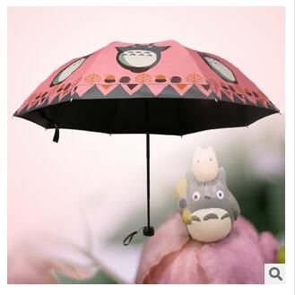 Japan Totoro umbrella: http://www.goomart.net/products/2016-high-quality-japan-totoro-umbrella-free-shipping-three-folding-rain-umbrellas-super-light-aluminium-creative-umbrella/ #Japan #Totoro #Umbrella