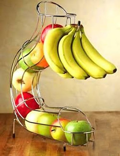 exotic fruit rack need this for my kuds to grab fruit and go!