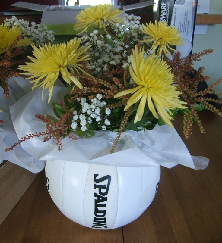 Volleyball centerpiece - Bing Images