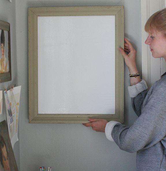 die besten 25 diy whiteboard ideen auf pinterest t gliche m hsame liste klemmbretter und. Black Bedroom Furniture Sets. Home Design Ideas