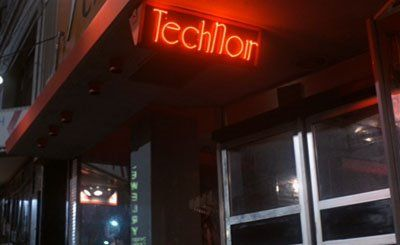 TechNoir club from the Terminator movie © 1984 Orion Pictures. All Rights Reserved.