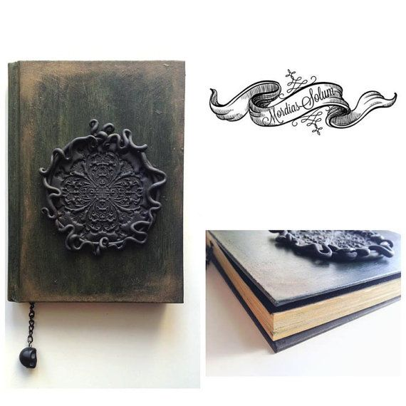 Occult Journal Wiccan Notebook Dark Fantasy Book by MordiasSolum