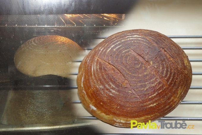 Kváskový chleba s podmáslím