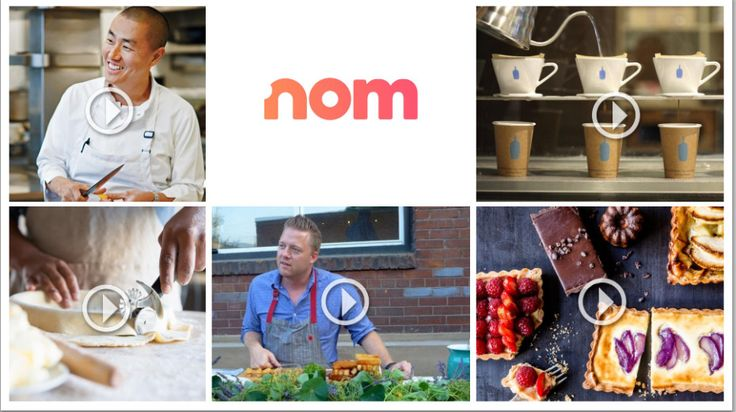 """YouTube cofounder Steve Chen launches Nom, a livestreaming service that's Twitch for food shows"""