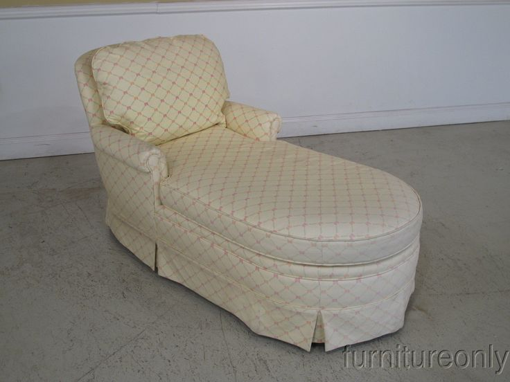 F24357 Kindel Fully Upholstered Chaise Lounge Chair