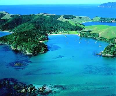 Beautiful Bay of Islands - New Zealand