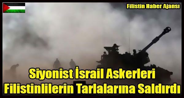 Görkü tanıkları, Siyonist rejim askerlerinin, tarlalarda çalışmakta olan Filistinlilere doğru ateş açtığını duyurdu.  Siyonist rejim askerleri neredeyse her gün Filistinlilere ait çiftlik ve tarlalara saldırı düzenliyor.   #filistin tarım arazileri #gazze refah #israil filistin saldırı