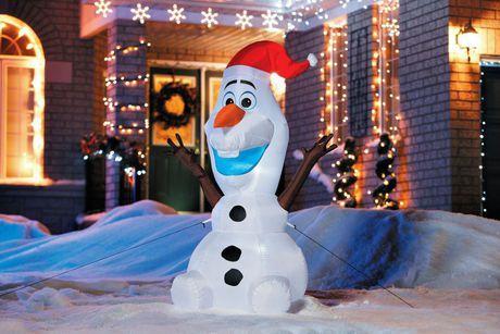 Olaf avec chapeau du Père Noël-gonflable à l'air-5pi. au Walmart.ca. Expédition SANS FRAIS! Magasinez et économisez sur tous les essentiels et aucun achat minimum requis.