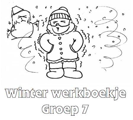 Winter Werkboekje Groep 7