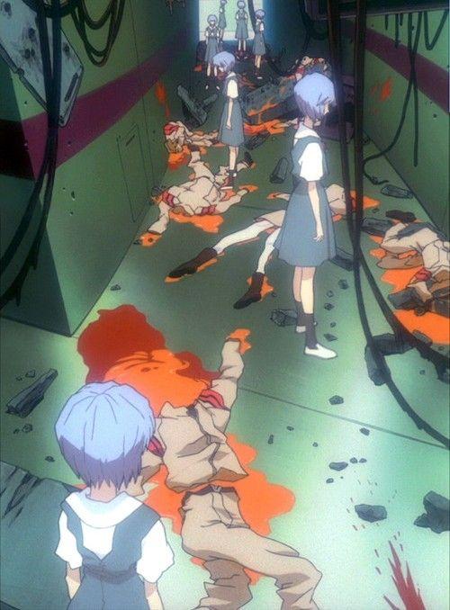 art neon genesis evangelion evangelion end of evangelion Rei Ayanami gainax yoshiyuki sadamoto