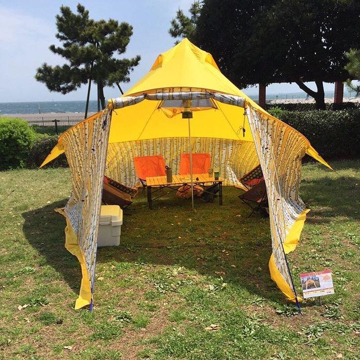 いいね!23件、コメント1件 ― 株式会社ケンコー社さん(@kenkosya)のInstagramアカウント: 「#ogtt2017 #城南島海浜公園キャンプ場 #ogtt #outdoorgeartouchandtry #bigagnes #ビッグアグネス #ミントサルーン #2017new #大型シェルター」