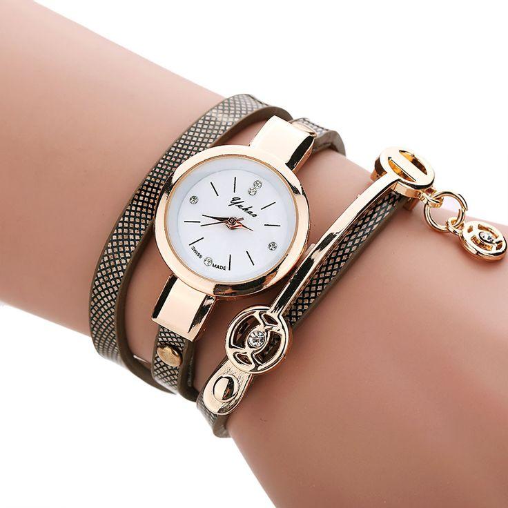 8 Цветов 2016 Новые Моды для Женщин Часы Горный Хрусталь Платье Часы Золотые Кварцевые Женские Часы Дамы Наручные Часы Reloj Mujer #women, #men, #hats, #watches, #belts, #fashion, #style