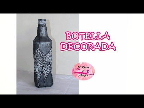 Mandala paso a paso en Botella (2/2) - YouTube