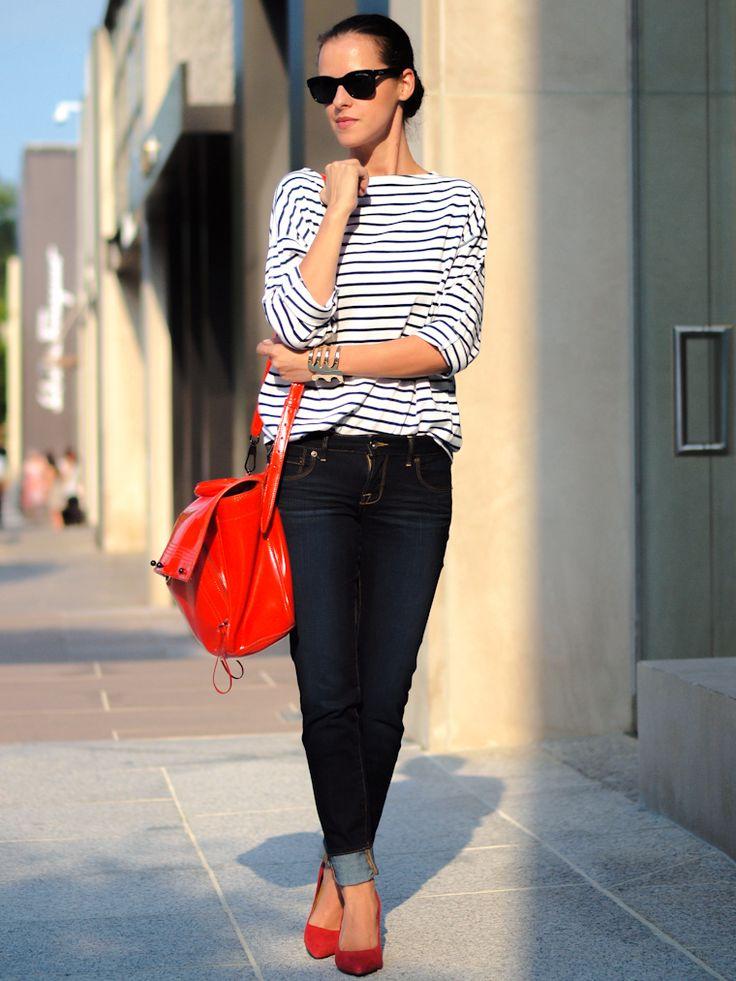 Jeans e listras
