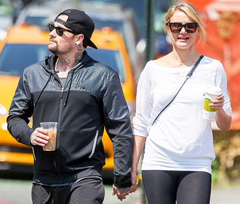 "Benji Madden Says He's ""Lucky"" To Be Dating Cameron Diaz - Us Weekly"