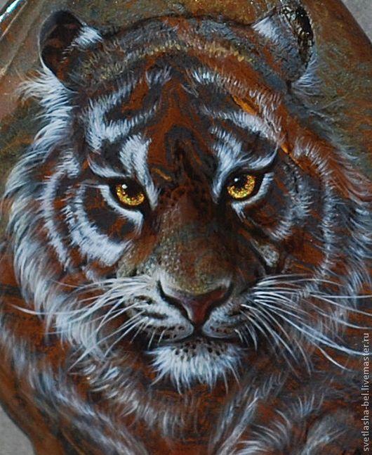 Кулоны, подвески ручной работы. Ярмарка Мастеров - ручная работа. Купить Тигры. Handmade. Коричневый, тигровый глаз