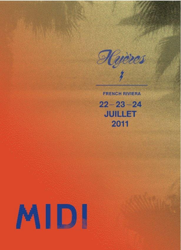 MIDI Festival, Hyères.  Frédéric Teschner