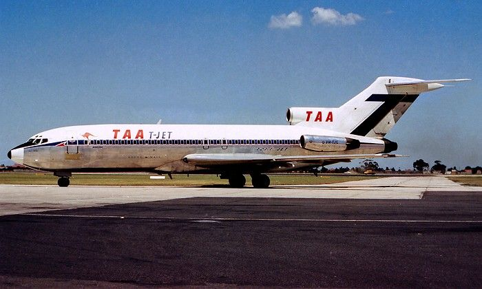 TAA - The Nations Jetline Boeing 727-76 (VH-TJC)
