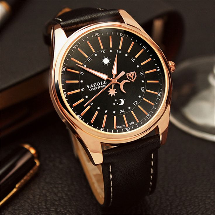 $9.18 (Buy here: https://alitems.com/g/1e8d114494ebda23ff8b16525dc3e8/?i=5&ulp=https%3A%2F%2Fwww.aliexpress.com%2Fitem%2FYAZOLE-New-Famous-Brand-Men-Watches-24-Hours-Dial-Unique-Design-Sun-Moon-Watch-Fashion-Casual%2F32710927662.html ) YAZOLE New Famous Brand Men Watches 24 Hours Dial Unique Design Sun&Moon Watch Fashion Casual Leather Quartz Wristwatch Relojes for just $9.18