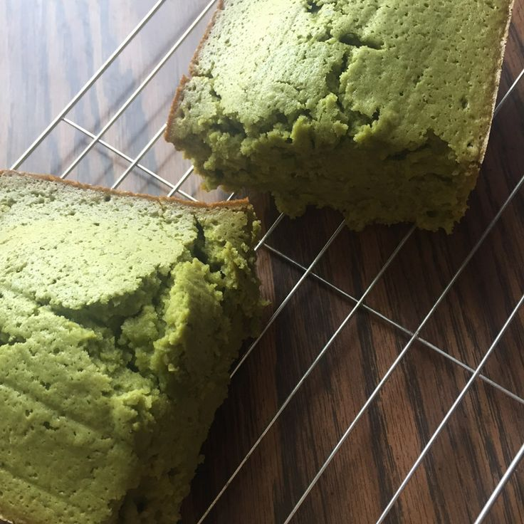 This moist, dense Matcha cake has a crunchy outer layer and only took about an hour to make.  It's one of our most popular green tea pound cake recipes! #matcha #epicmatcha   http://go.epicmatcha.com/matcha-cake-recipe?utm_source=Pinterest&utm_medium=cpc&utm_campaign=matcha%20cake