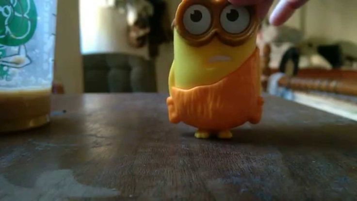 Caveman Minions Happy Meal Toys From McDonalds