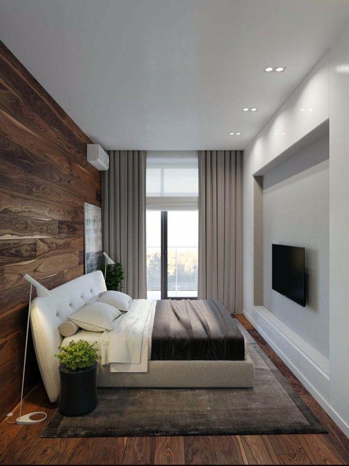 Мужской интерьер: стильная спальня для холостяка | Colors.life