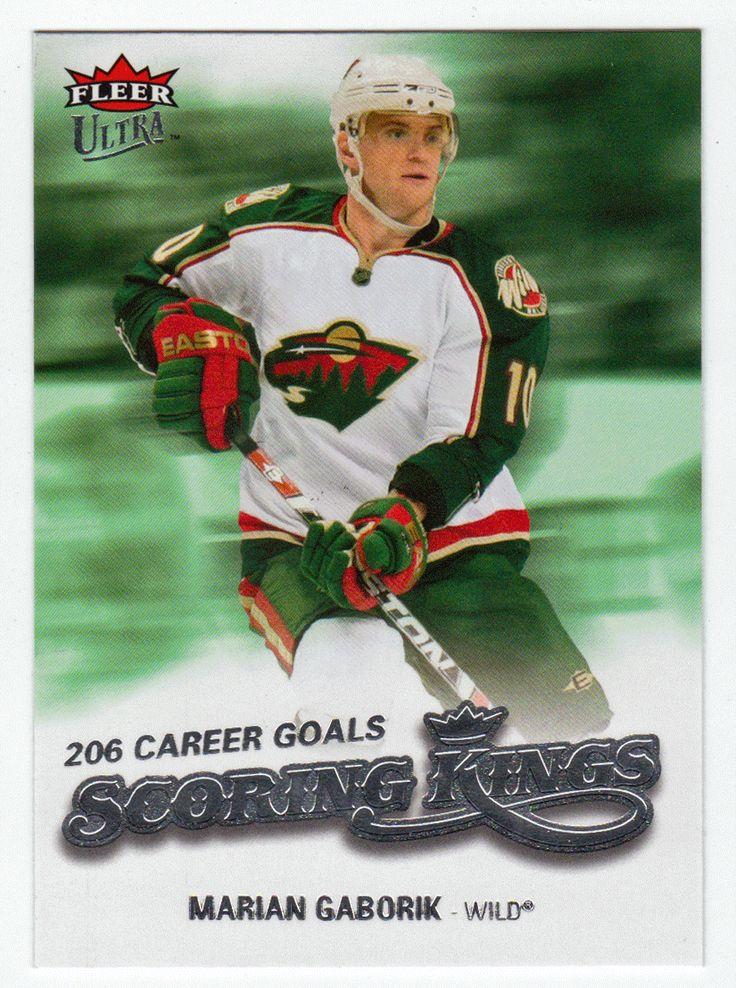 Marian Gaborik # SK14 - 2008-09 Fleer Ultra Hockey - Scoring Kings