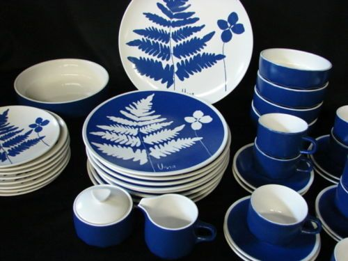 Mid Century Modern Vera Neumann Design Mikasa Woodland Fern China Dinnerware Set & 62 best China I Like images on Pinterest | Minneapolis Dishes and ...