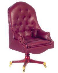 Resolute Desk Chair, Mahogany