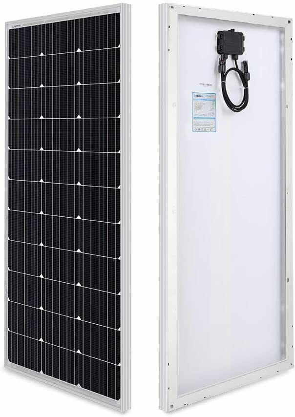 Renogy 100 Watt 12 Volt Monocrystalline Solar Panel Compact Design 42 2 X 19 Renog In 2020 Solar Panel Roof Design Solar Panels Architecture Solar Panels For Home