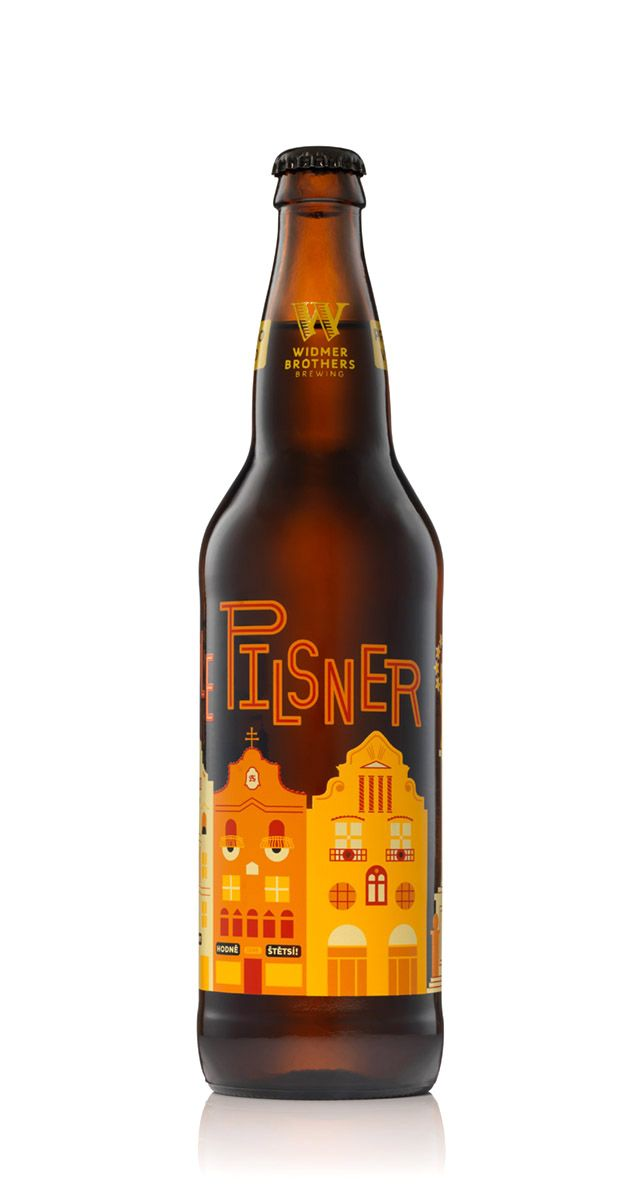 Widmer Brothers Brewing Czech Style Pilsner - design by Jason Sturgill 30 beers for 30 years