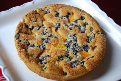 ... blueberry peach coffee cake click through for recipe and video coffee