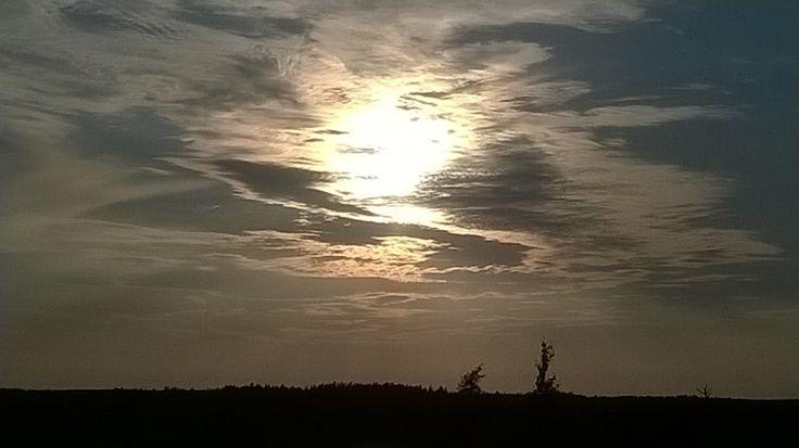 Beautiful clouds seen from Nenustannokka