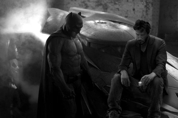 batman triste parodie batman vs superman ben affleck 9   Le batman triste devient un meme   Zach Snyder triste superman photoshop photo paro...
