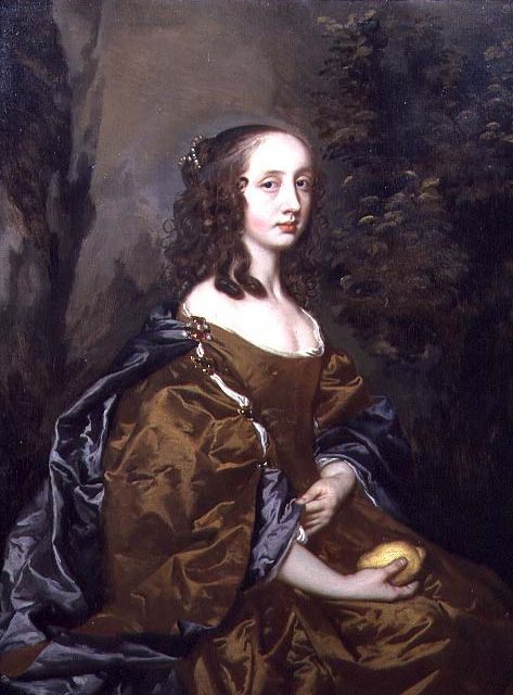 ca. 1655 Lady Lindsay by Sir Peter Lely gran to archaild douglas janet.gggto mary queen of scots
