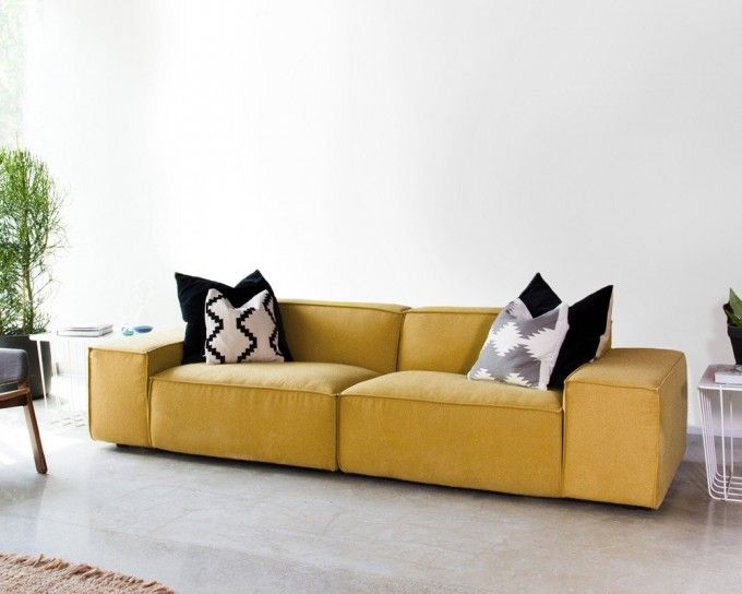 Gray Large Custom Sofa Interior